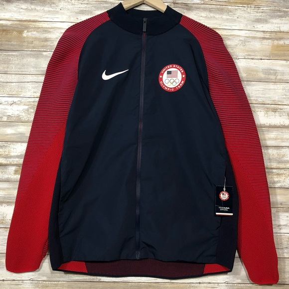 f690b35f175 Nike Mens 2016 Team USA Olympic Jacket Size  large